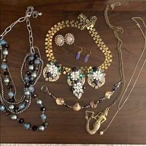 Costume Jewelry Bundle- 7 pieces